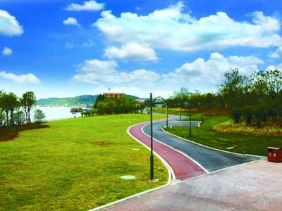铜陵模式 绿色发展理念创碧水蓝天生态城图片
